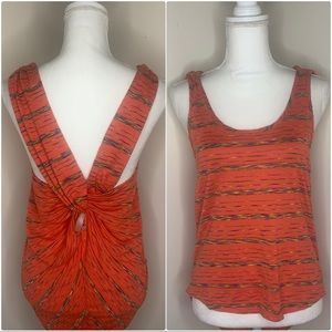 Coveted Clothing Tank Tie Back Small